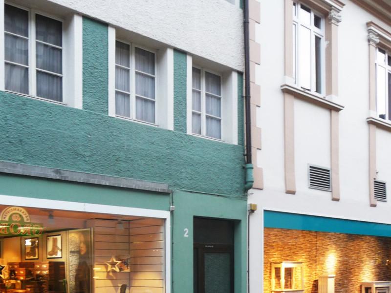 Kaufhaus Schnückel - Fassadee vorher