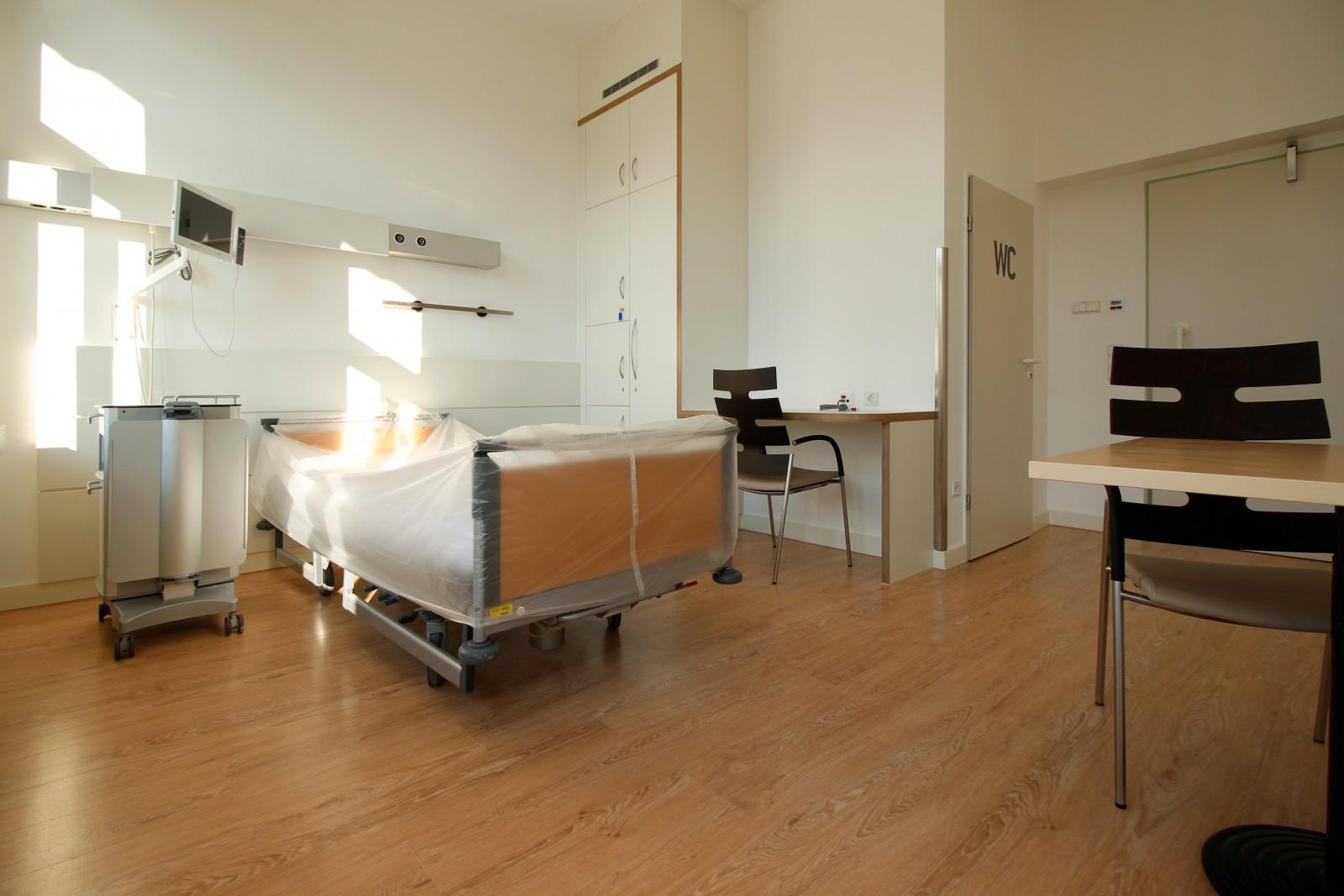 Hüttenhospital Umbau_1-Bettzimmer 1