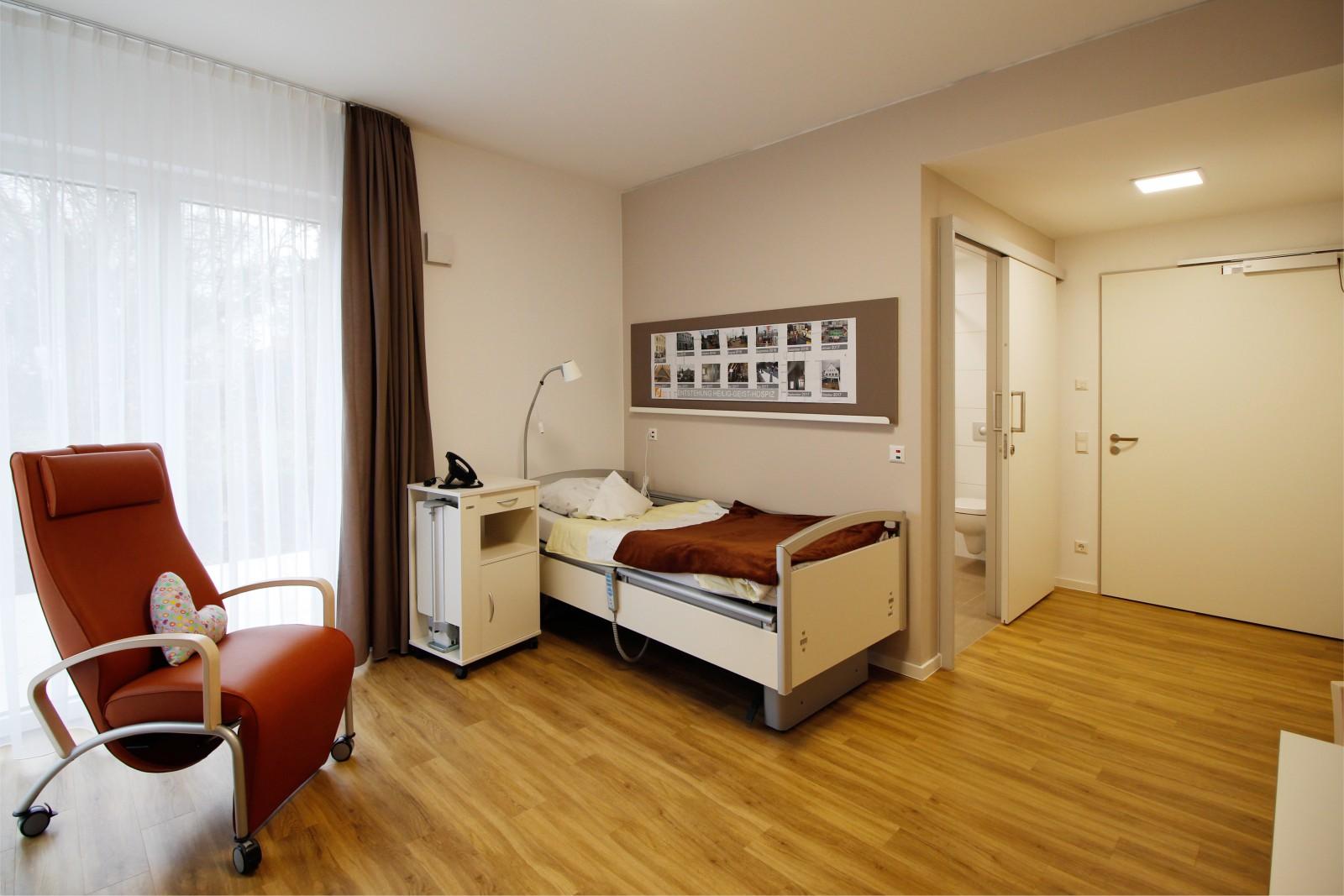 H-G-Hospiz Unna_Zimmer Gast 1