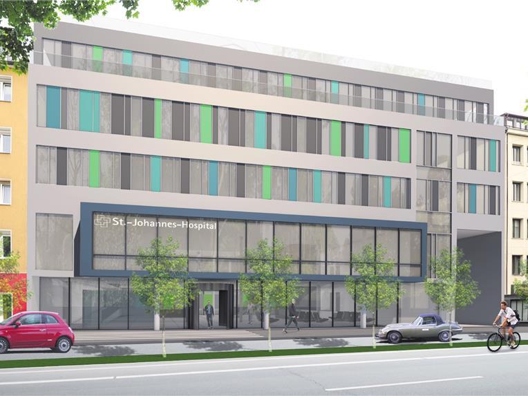 JoHo Dortmund_Visualisierung Fassade