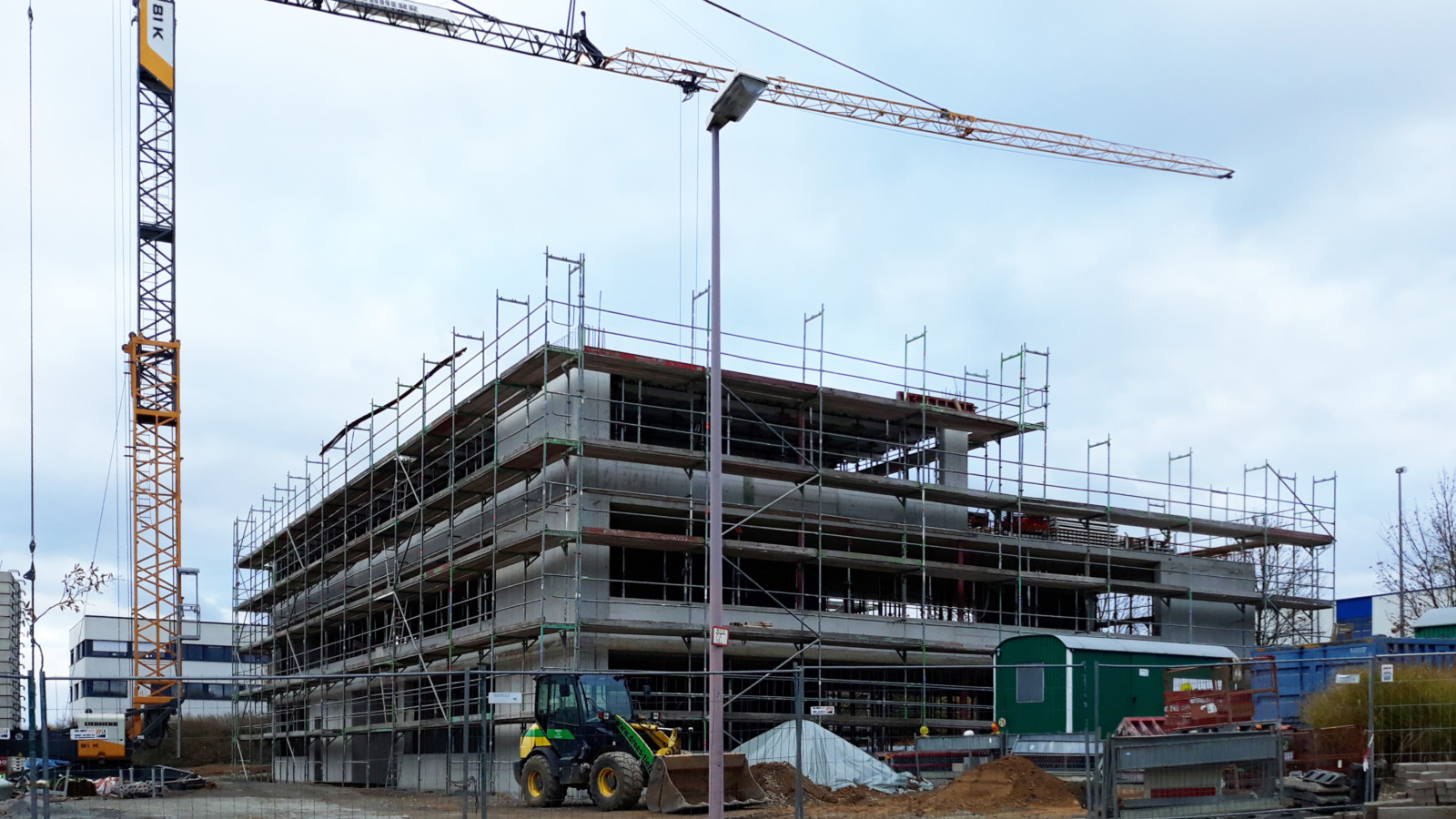 PVS Unna Neubau Bürogebäude