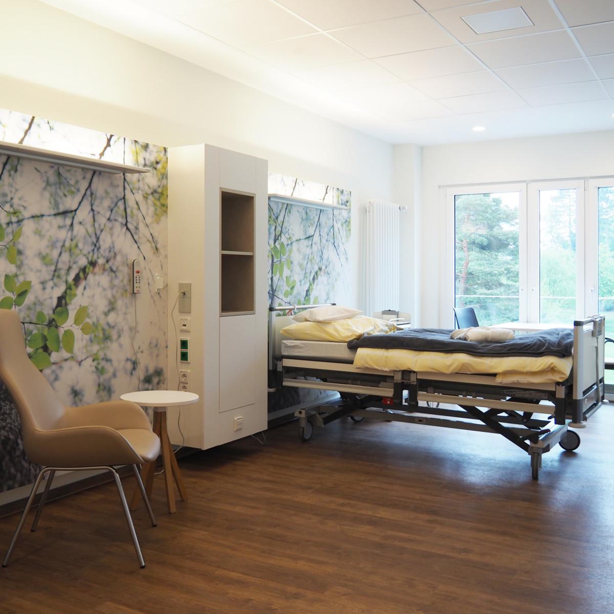 1-Bett-Zimmer im PKV-Standard