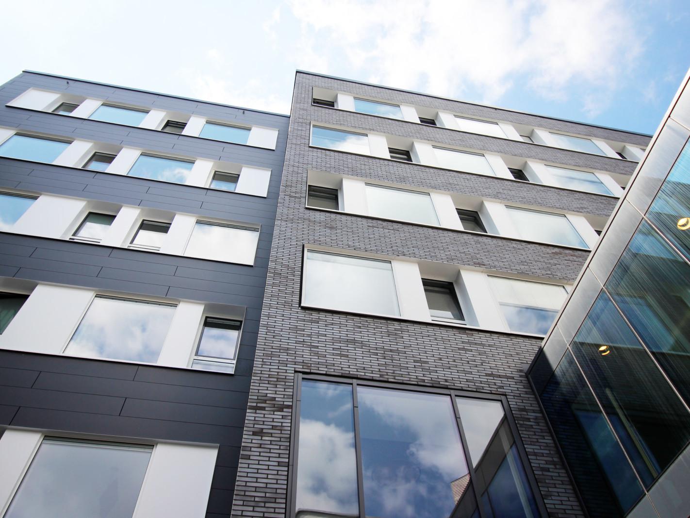 Verbindungsbau_JoHo Dortmund_Fassade