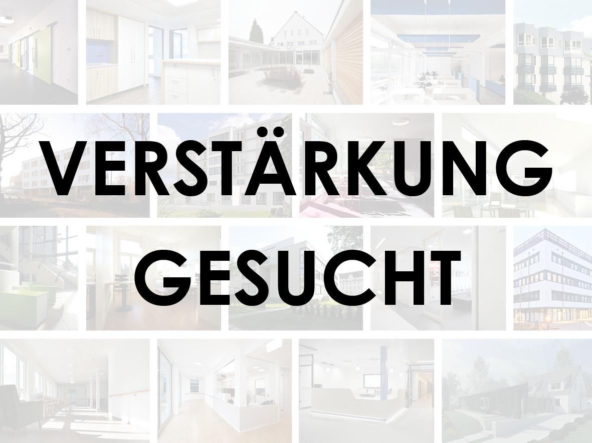 Verstärkung gesucht_weicken architekten