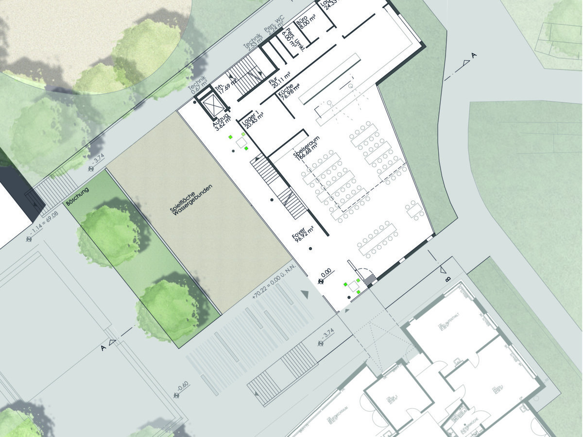WB Schule Münster_Grundriss EG