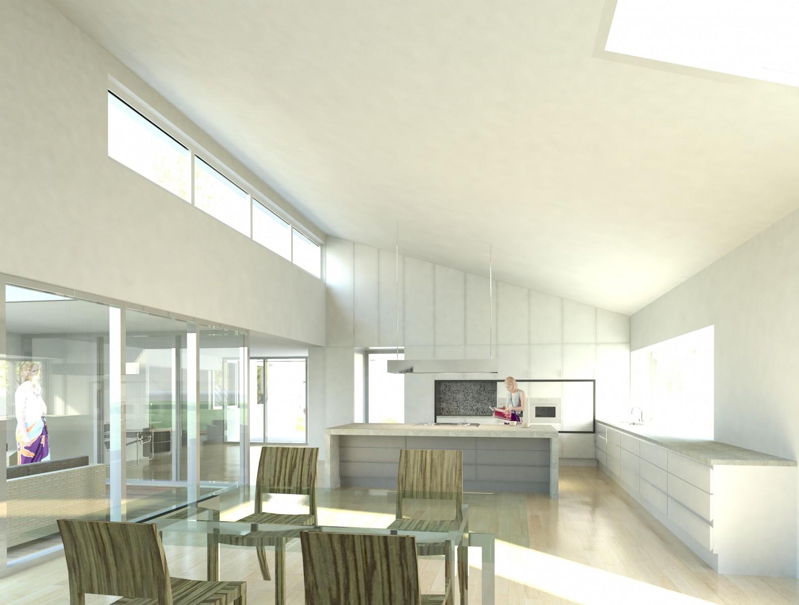 Wohnhaus P_Visualisierung Innenraum