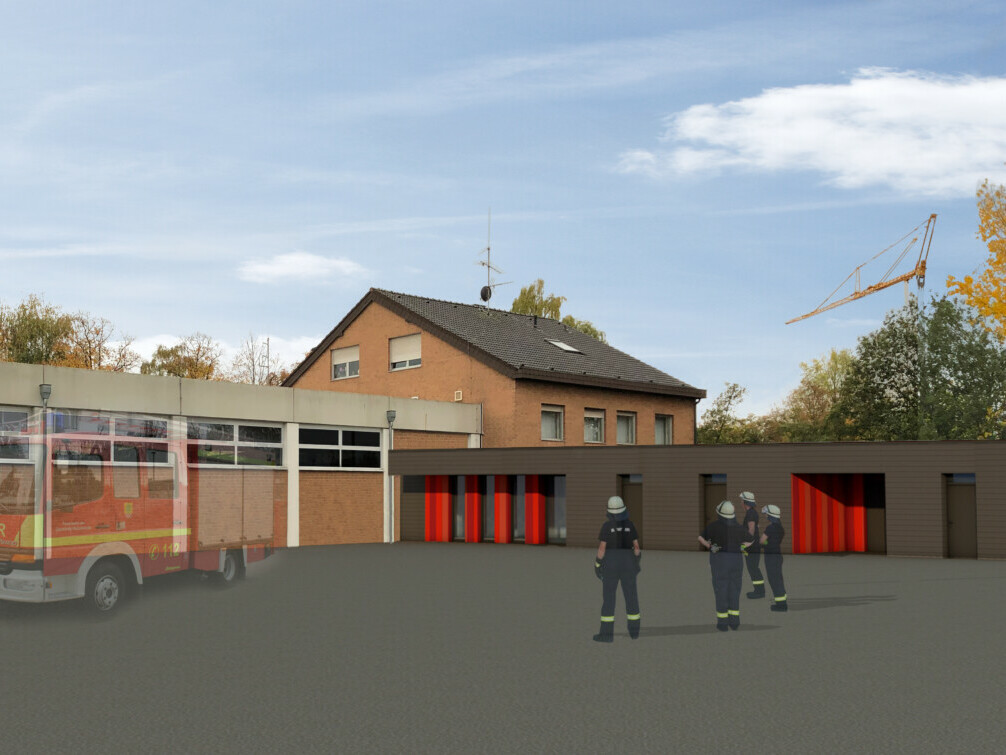 Feuerwehrgerätehaus Holzwickede